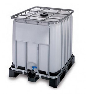 Contenedor de 600 litros con grifo